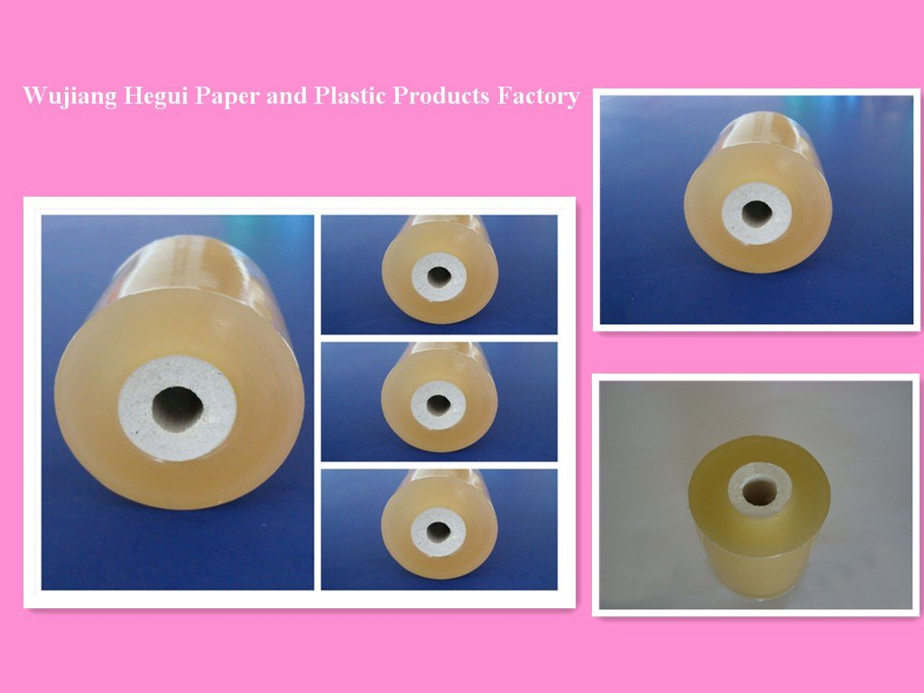 transparent yellow Protective PVC Plastic Wrap Film