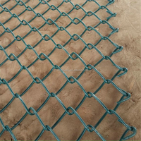 6ft x 50ft chain link fence