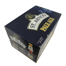 24 Pack Beer Bottle Corrugated Carton carrier wine shipping box