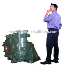 High chrome alloy and high efficiency impellers horizontal slurry pump 25HS-B