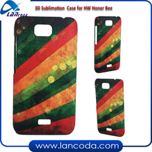 Customize polymer 3D Sublimation Phone Case for Honor Bee