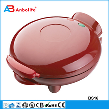 Anbo Red Multi-fuction Sandwich Maker 220V Electric Commercial Grill Sandwich Maker