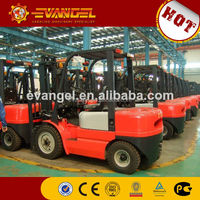 2.5ton 4 wheels drive electric/battery forklift