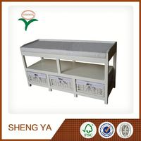 Fashion 3 Drawers Wooden Seat Bench Alibaba China