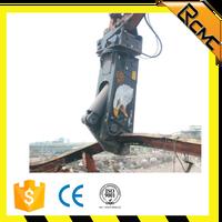 hydrualic eagle shear for processing steel in scrap