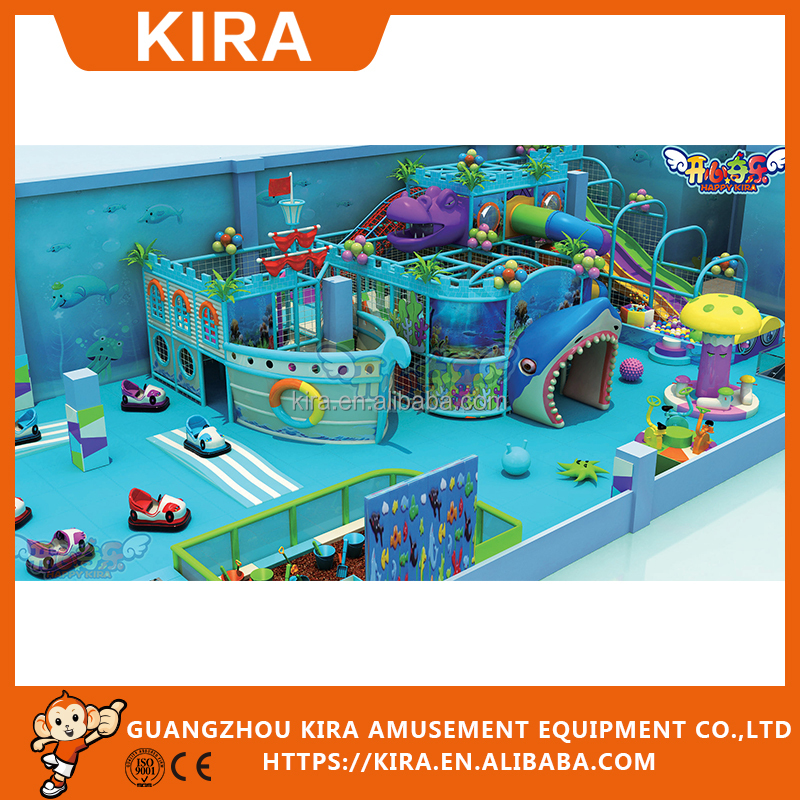 Manufactuer Supply Commercial Kids indor playground equipment