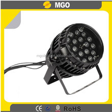 Stage Light Waterproof Ip64 18pcs*10w Zoom Led Par Can Light