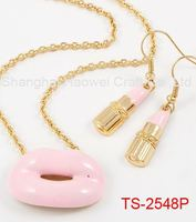 TS-2548P Factory Popular excellent quality rani haar jewelry set reasonable price