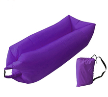 New design inflatable lounge bag hammock air sofa