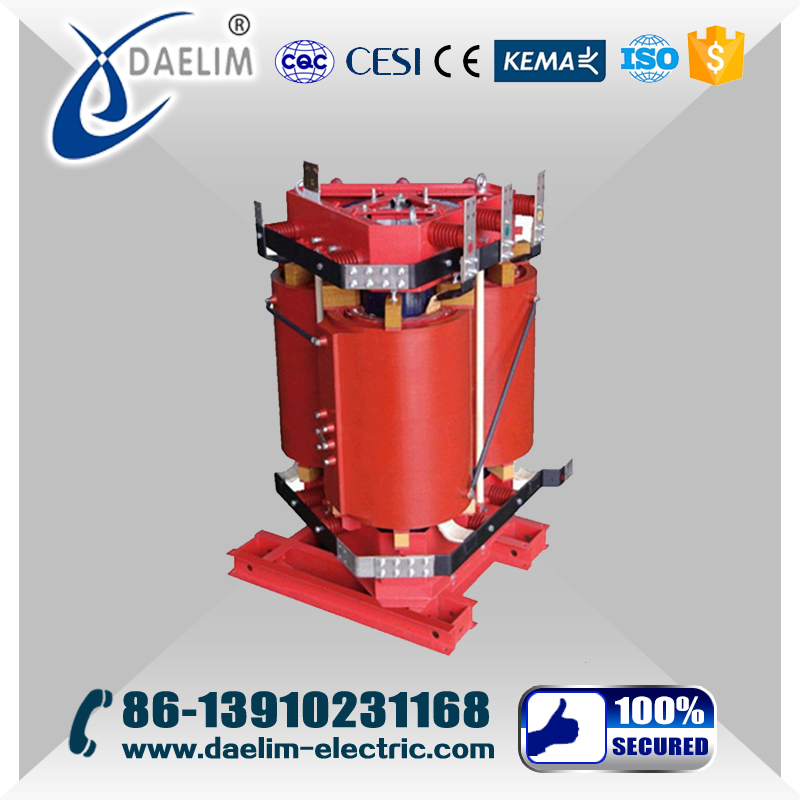 ONAN 11kv/480v 1600kva Dry Type Power Transformer with OLTC.