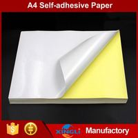 Manufacturer low price self adhesive thermal paper
