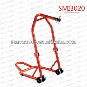 160KG Capacity Patented Universal Steel Material Front Head lift for Motorcycle SMI3020 Motorcycle Stand Fork Lift Paddock Stand