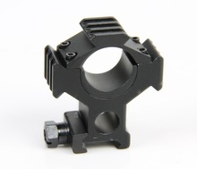 ar 15 accessories military Tactical airosft 30mm Rifle Scope Mount 25.4mm flashlight holder laser sight mount for hunting