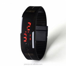 Cheap Fashion Women Silicone Digital LED Sport Watches Men Luxury