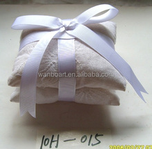 potpourri in white fabric double bag - dry flower and potpourri