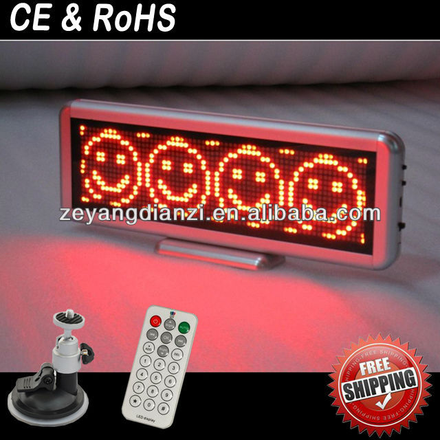 New China Products Mini Led Moving Sign Board