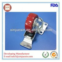 Guangdong hot sale heavy duty galvanized caster