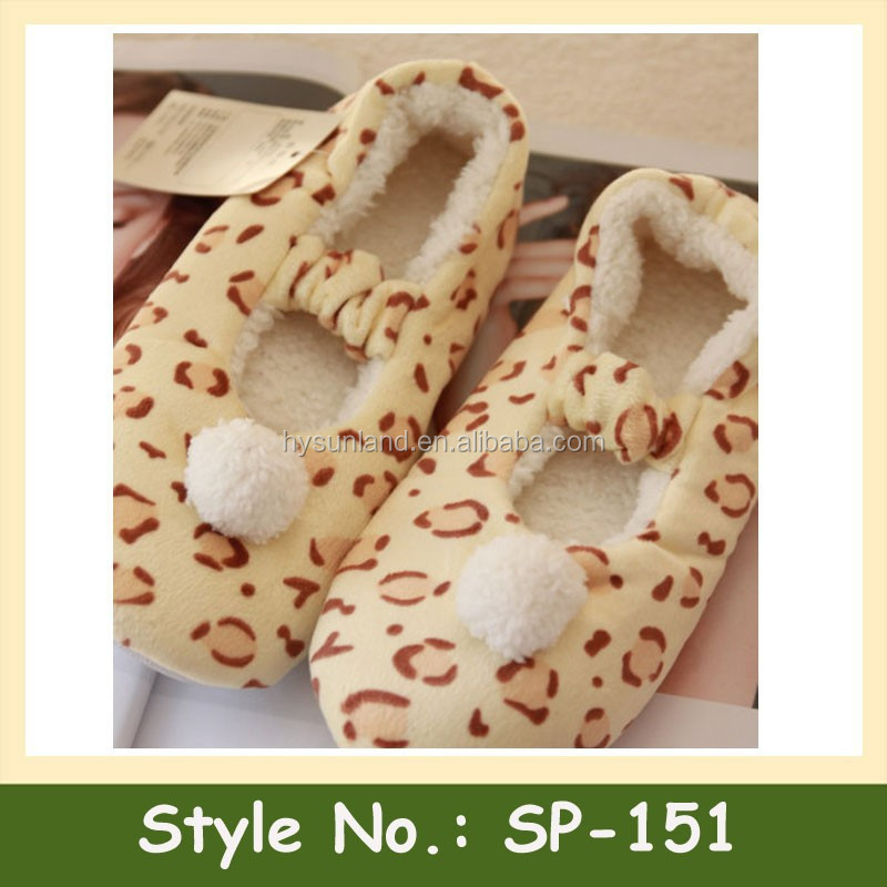 SP-151 soft home indoor slipper wholesale custom ballet dancing shoes slippers