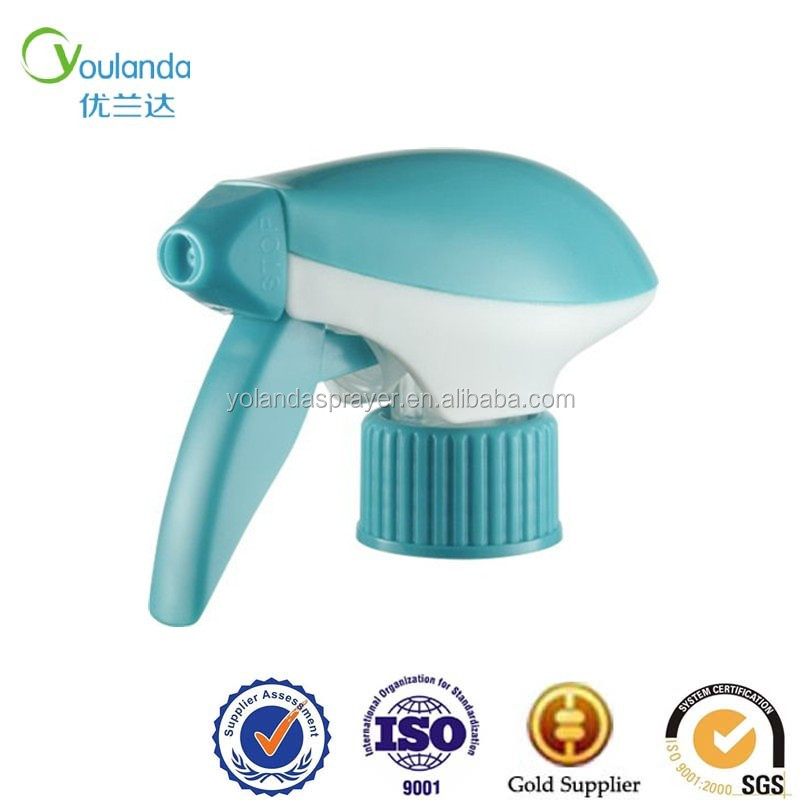High pressure adjustable nozzle big hand finger spray with plastic bottle