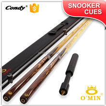O'MIN custom made 3/4 jointed classice design billiard cue maple snooker cues