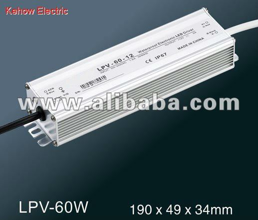 LPV-60W IP67 waterproof LED switching power supply