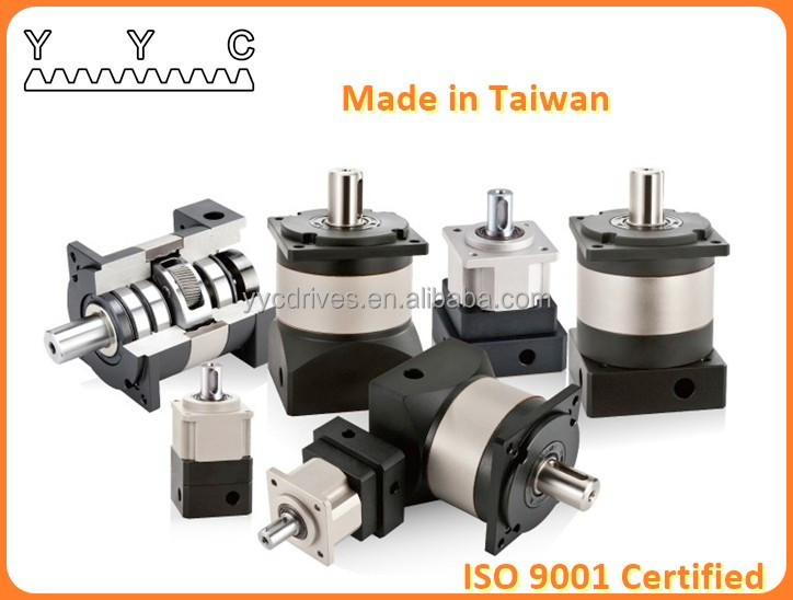 YYC Official Site Taiwan Supplier Vertical Two Stage Planetary Reducer