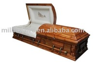 cedar casket, decorative casket & coffin