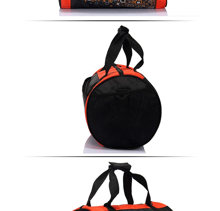 Eco-friendly duffel nylon material sports travel duffle bag woman sport bags for gym