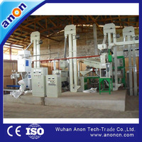 ANON Automatic Diesel Engine Rice Milling Machine