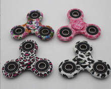 Multi-color ABS plastic adhd toy hand spinner for quitting bad habit