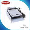 hamburger machine /batch bun toaster machine /baking plate