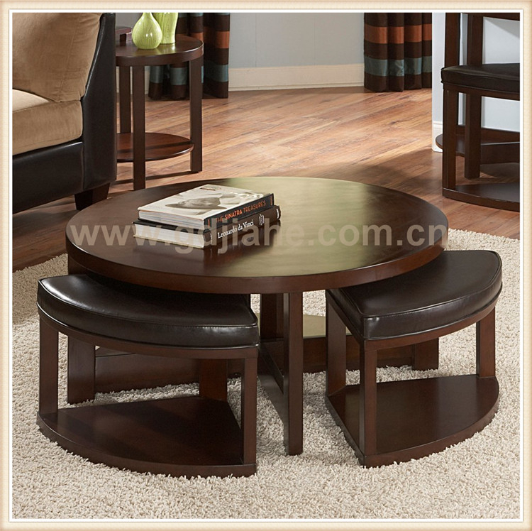 Home Goods Convertible Wood Round Coffee Table To Dining Table Set Chairs Buy Wood Coffee