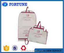 High quality zip lock extensions garment bag cover