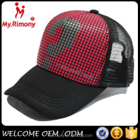 2015 sex hat ,sex product hot girl image, wholesale mesh cap