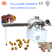 Automatic Chocolate Ball Packing Machine Chocolate Ball Warpping Machine Chocolate Bar Packing Machine