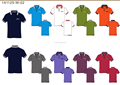ladies' & man's golf polo shirts and pants