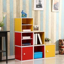 New product wooden book display cabinet factory hot wholesale