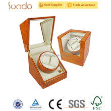 wooden Japan motor automatic watch winder
