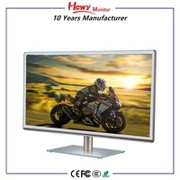 "1920 * 1080 full HD 24"" inch IPS LED monitor with VGA / DVI Input"