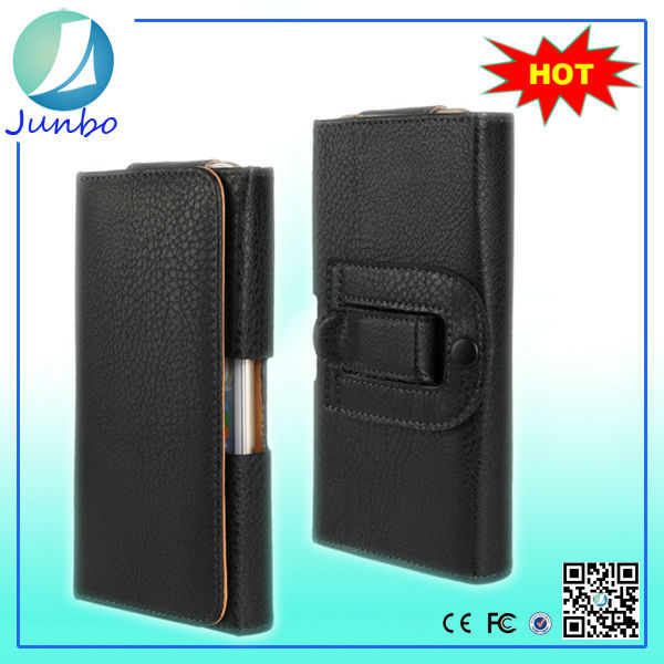 Universal Leather cell phone cover case for samsung galaxy grand prime
