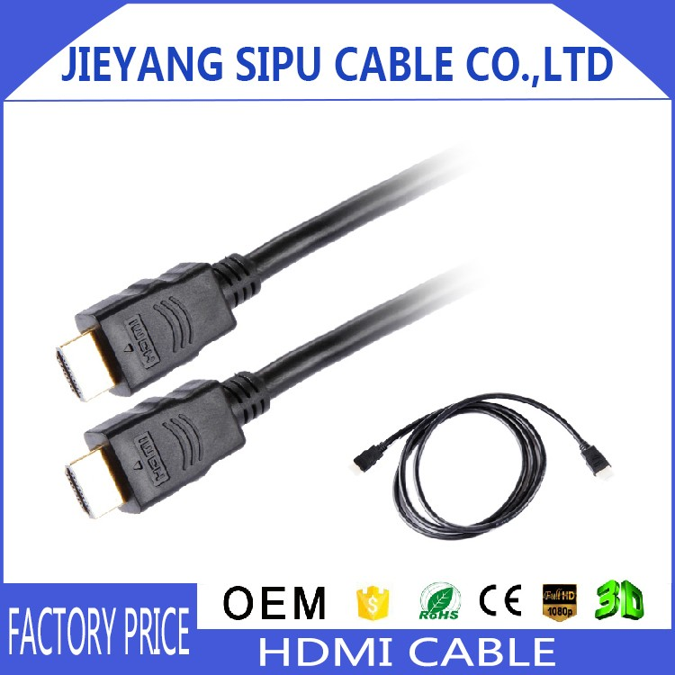 wholesale hdmi cable 4k 2.0 factory price tv video cable wholesale computer cable hdmi 1.4