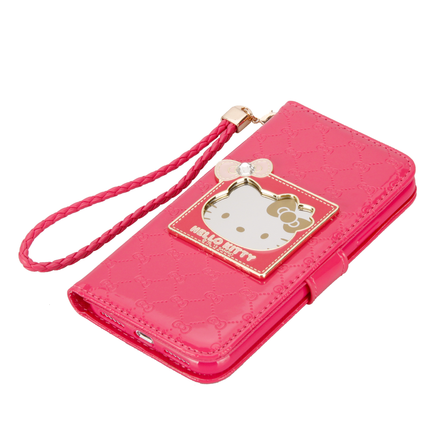Luxury Hello Kitty Leather Phone case cover Wallet case for iPhone 6/7/8 6/7/8P iPhone X