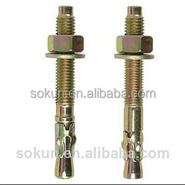 concrete wedge type anchor bolt galvanized