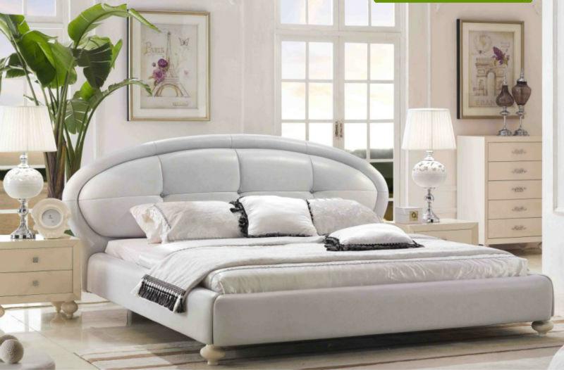 korean style modern soft bed frame