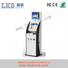 High Quality Kiosk touch screen kiosk price With Cashcode Acceptor