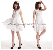 2013 fashion Korean ladies dresses, hot sal korean dresses
