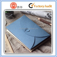 High quality pearlescent paper envelope with heart seal design