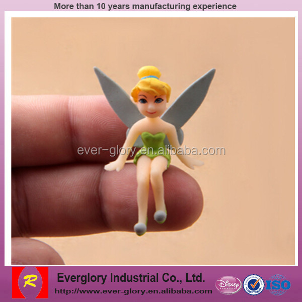 cheap Fairy plastic figure toy, beautiful fairy toy,action figurine girl doll