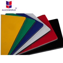 Alucoworld cheap exterior stucco wall panels acp design cladding sheet