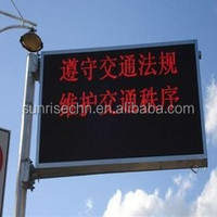 led display audio video japan dvd gay av se cable electronics Street pole advertise HD display